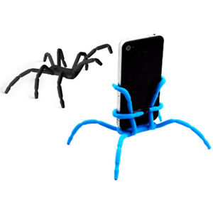 Universal Mount Holder Stand For iPhone Samsung Smart Phone Home Octopus Spider