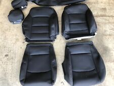 FACTORY OEM ORIGINAL REPLACEMENT BLACK CLOTH SEAT COVERS 2019 CHEVROLET MALIBU