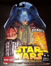 STAR WARS SENATOR MEENA TILLS #47 REVENGE OF SITH ACTION FIGURE NEW MIB