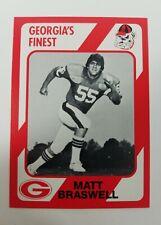 Matt Braswell Georgia Bulldogs UGA Dawgs 89 Collegiate Collection Americus GA NM