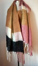 NEW RIVER ISLAND LARGE BLANKET SCARF SHAWL