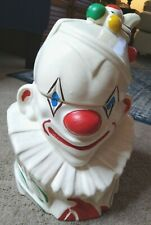 Antique McCoy 1940's Circus Clown Cookie Jar
