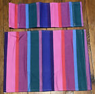 1 Pier 1 Imports Director's Chair Replacement Cover Bright Stripes Blue Pink m6