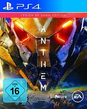 Ps4-Anthem-Legion of Dawn Edition - (nuevo con embalaje original)