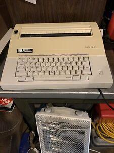 Vintage white smith and corona 240 DLE electronic typewriter