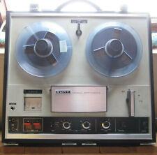 Sony TC-252 Stereo Tapecorder Reel to Reel Tape PLayer Recorder ca 1969 110/220V
