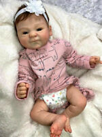 """19"""" Handmade Real Soft Touch Baby Reborn Preemie Baby Doll Collectible Art Dolls"""