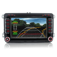 "7"" VW Golf MK5 MK6 Jetta Car Stereo Radio DVD Sat Nav GPS Bluetooth OEM-Style UI"