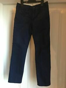 Boys gap Chinos blue age 10 regular adjustable waist - very good condition