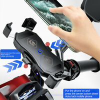 Chargeur sans fil universel pour moto 15W Qi Support de charge de téléphone p D1