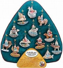 G. DeBrekht Traveling Santa Large Standing Christmas Ornament Display Stand NEW