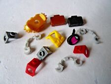 LEGO ASSORTED MINIFIGURE BODY WEAR x 12  (4449)