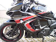 Dekorsatz Aufkleber Dekor für Suzuki GSX1250FA 2010-2015 grau-rot Kleber