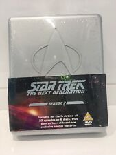 STAR TREK THE NEXT GENERATION - THE COMPLETE SEASON 2 DVD BOX SET BRAND NEW