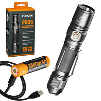 Fenix PD35 V2.0 1000 Lumen Flashlight +High Capacity Rechargeable Battery & Cord