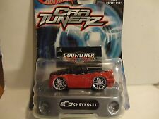 Hot Wheels Car Tunerz Red Godfather 2002 Chevy S10 Pickup Truck