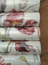Laura Ashley Gosford Meadow Cranberry Wallpaper Same Batch 12 Available