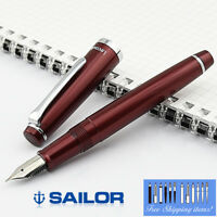 Sailor Fountain Pen Lecoule Garnet red color Fine Nib 11-0311-330 Free Ship!!