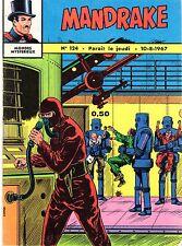 MANDRAKE 124  EDITIONS DES REMPARTS 1967 TBE