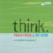 Think by Paolo Fresu/Uri Caine (CD, Feb-2009, EMI) LIKE NEW