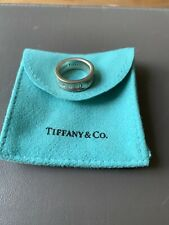 Genuine Tiffany and Co Argento Sterling Anello