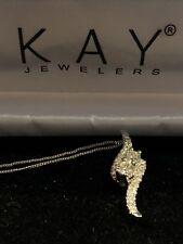 1 1/2kt Diamond Ever Us Pendant Necklace 14k White Gold Kay Jeweler $4799 Retail
