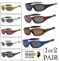1 or 2 Pair X-Loop Polarized Lens Sport Cycling Fishing Running UV400 Sunglasses