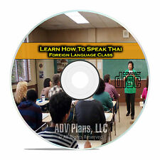 Learn How To Speak Thai, Fluent Foreign Language Training Class, CD E20