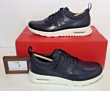 NIKE AIR MAX WOMEN'S SIZE 8 THEA PINNACLE BLACK SAIL LEATHER NIB NEW RETRO RARE