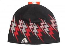 New Nike ACG unisex acrylic black red grey rider scull beanie hat size S/M