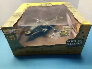 Forces of Valor 1:48 U.S. AH-64A Apache Attack Helicopter Action Series New
