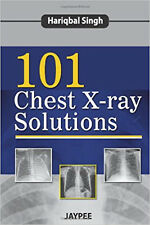 101 Chest X-Ray Solutions, Very Good, Hariqbal Singh Book