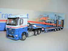 IMC 33-0130 1:50 GALT TRANSPORT MERCEDES BENZ AROCS 6X4 WITH 3 AXLE TRAILER