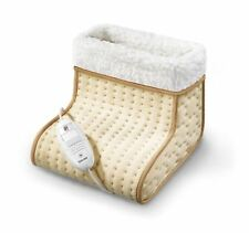 Beurer FW20 Cosy Heated Electric Foot Warmer, Washable, 3 Heat Settings Slippers