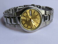 Vintage Made in Japan SEIKO 5 Automatic 21 Jewels Day & Date watch  No.7S26-02L0