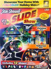 Star Shower SLIDE SHOW Laser LED Projector Lights for Christmas & Halloween 2017