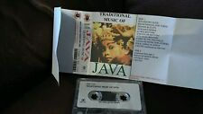 Traditional Music of Java  Cassette Tape