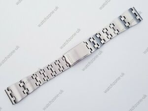 NEW 19MM STAINLESS STEEL GENTS WATCH STRAP FOR SEIKO VARIOUS MODELS (SE-10)