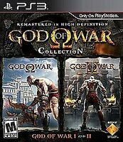 God of War Collection - 2009 - (Mature) - Sony PlayStation 3 PS3