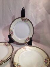 "Noritake Grasmere 76567 Floral Design Bread Salad Plate 6.5"""