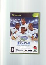 WCR: WORLD CHAMPIONSHIP RUGBY - 2004 XBOX GAME Fast Post ORIGINAL & COMPLETE VGC