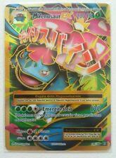 Lotto carte Pokemon MEGA M VENUSAUR EX 100/108 XY EVOLUZIONI EX BREAK FULL ART