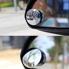 2x For BMW BENZ VW AUDI Car Rearview Mirror Blind Spot Round Wide Angle 360° Set
