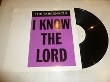 """THE TABERNACLE - I Know The Lord - 1996 UK 2-track 12"""" vinyl single"""