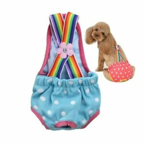 Physiological Pants for Dog New Cute Strap Pet Safety Pants Menstrual Underwear