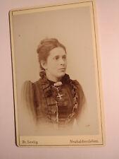 Neuhaldensleben - junge Frau - Portrait / CDV