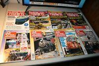 O Gauge Railroading Magazines, Classic Toy Trains Magazine, Never used, 8 copies