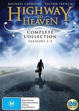 Highway To Heaven : Season 1-5 (DVD, 2017, 29-Disc Set)
