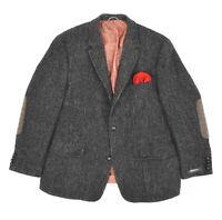 Mens Harris Tweed x Mario Barutti Wool Blazer Jacket Sport Coat Size EU56 / UK46