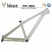 """26er Super light Carbon Fiber 14"""" Mountain  Bike Frame BB92 + Clamp + Headset"""